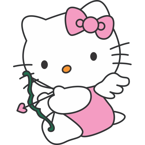 Hello Kitty DIY decals stickers version 5